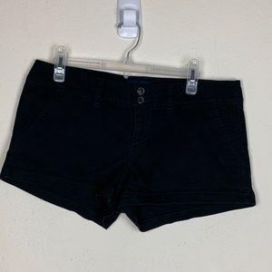 American Eagle- Black Shorts size 10